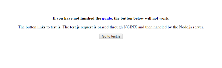 Go to the test.js